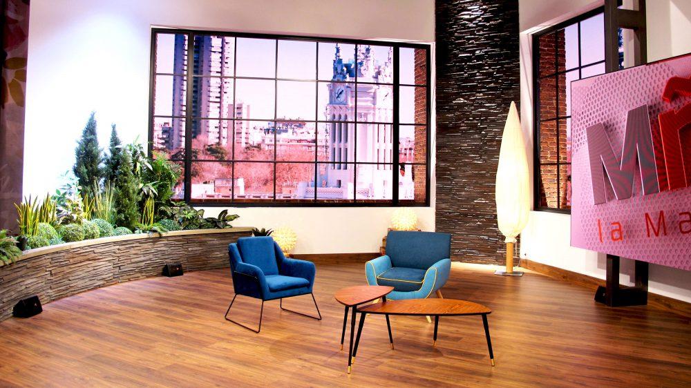 Construcción Decorados y Escenografía por Colorkreis para La Mañana de TVE