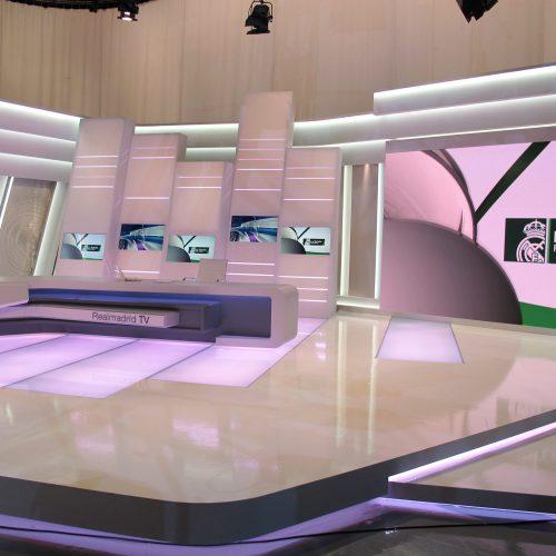 Construcción Decorado TV-Colorkreis-REAL_MADRID_TV-MEDIAPRO_01